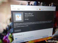WordPad dan Beberapa Apps Desktop Windows 10 Kini Menjadi Windows Store Apps