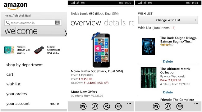 Amazon Windows Phone