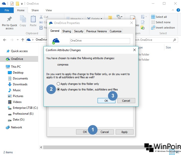 Cara Kompres Ukuran OneDrive di Windows 10 (4)