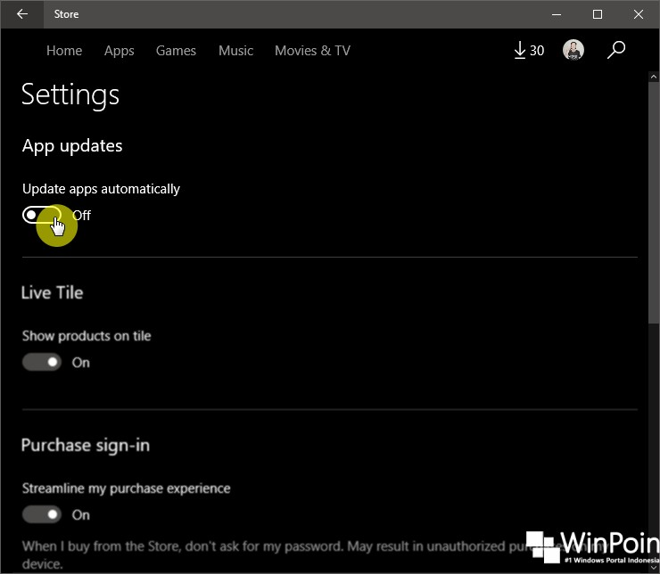 Cara Mematikan Perbaruan Aplikasi Secara Otomatis di Windows 10 (2)