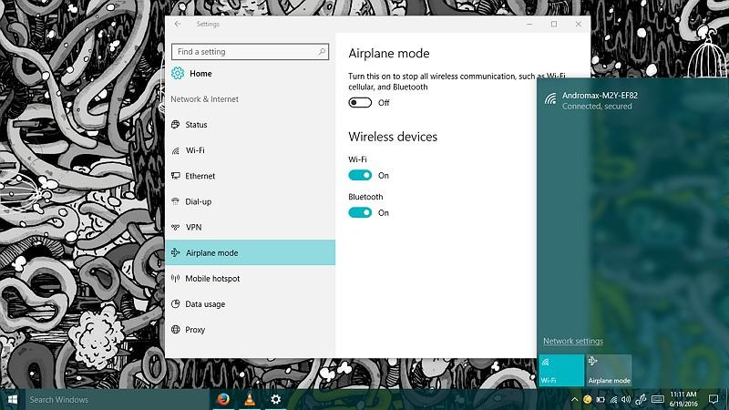 Cara Mengaktifkan atau Menon-aktifkan Airplane Mode di Windows 10 (1)