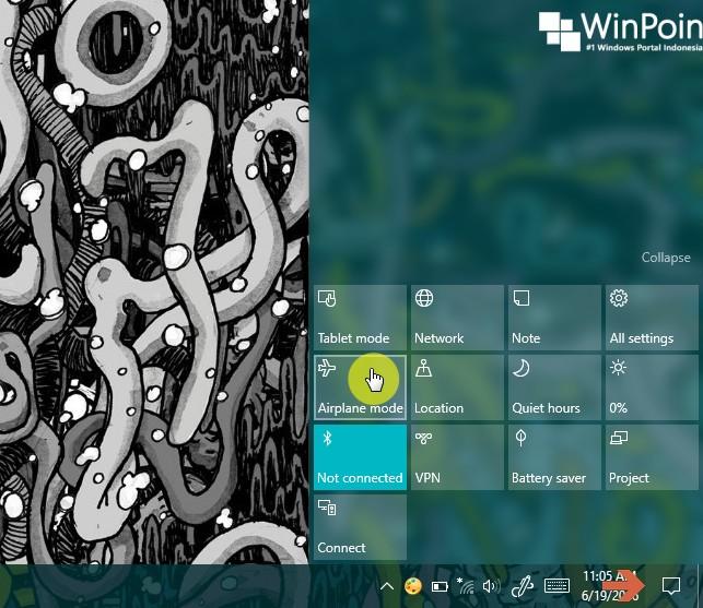 Cara Mengaktifkan atau Menon-aktifkan Airplane Mode di Windows 10 (3)