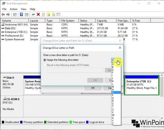 Cara Mengganti Drive Letter di Windows 10 (5)