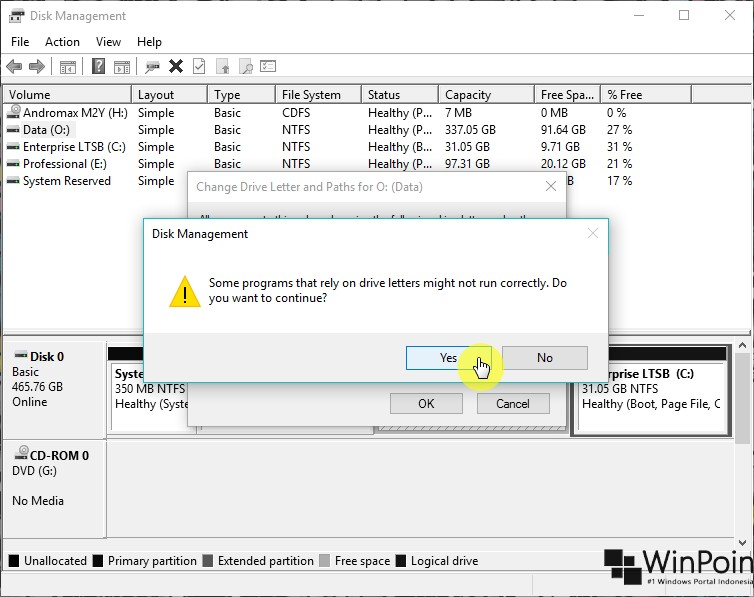 Cara Mengganti Drive Letter di Windows 10 (6)