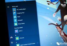 Cara Menyembunyikan 'Most used' dan 'Recently add' Apps di Start Menu Windows 10 (1)