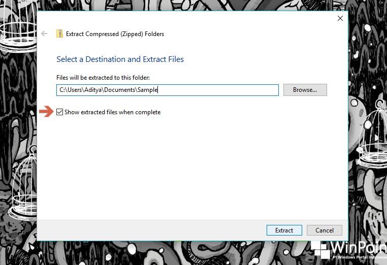 Cara Unzip File tanpa Aplikasi Ke-3 di Windows 10 (3)