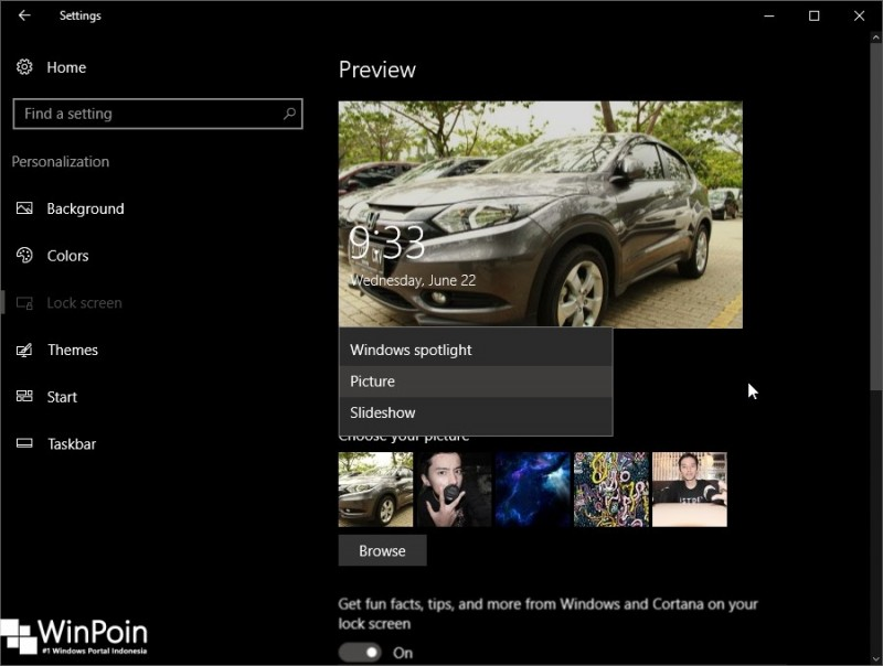 Guide  Yuk Percantik Tampilan Lock Screen Windows 10! (1)
