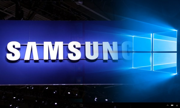 Ilustrasi Samsung Windows 10
