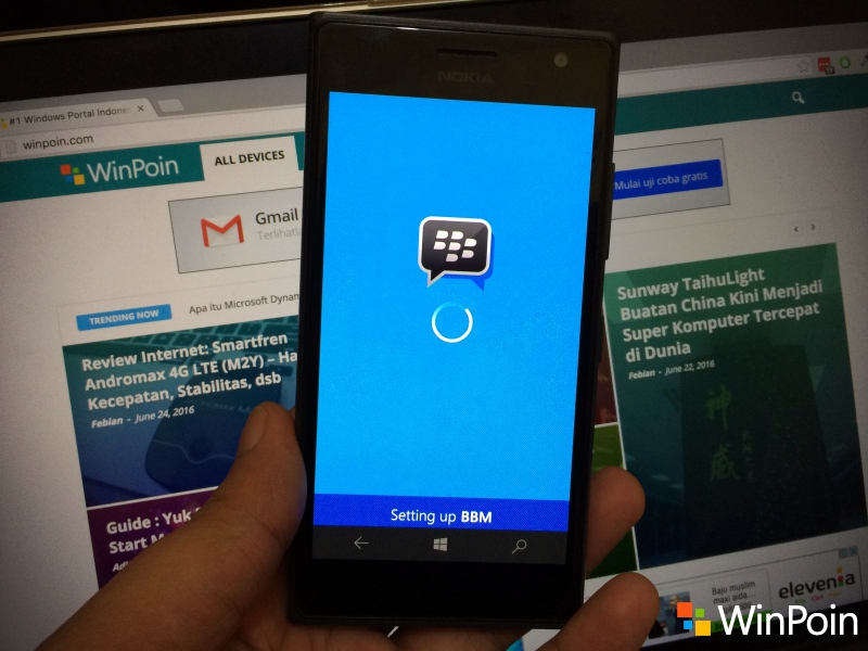 Tidak Ada Lagi BBM (BlackBerry Messenger) di Windows Store