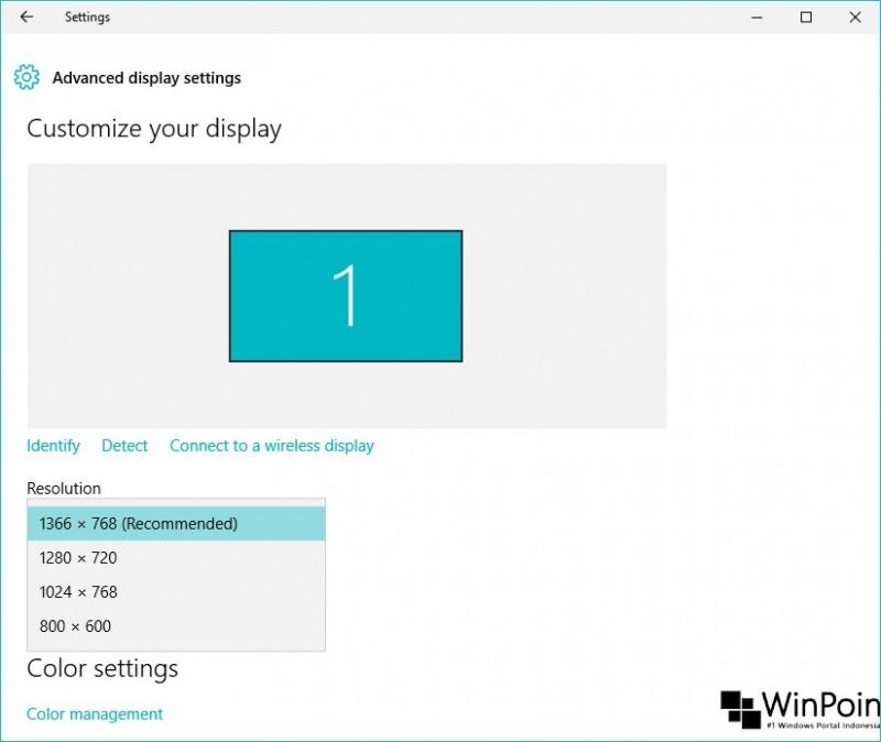 cara mengganti resolusi layar di windows 10 (4)