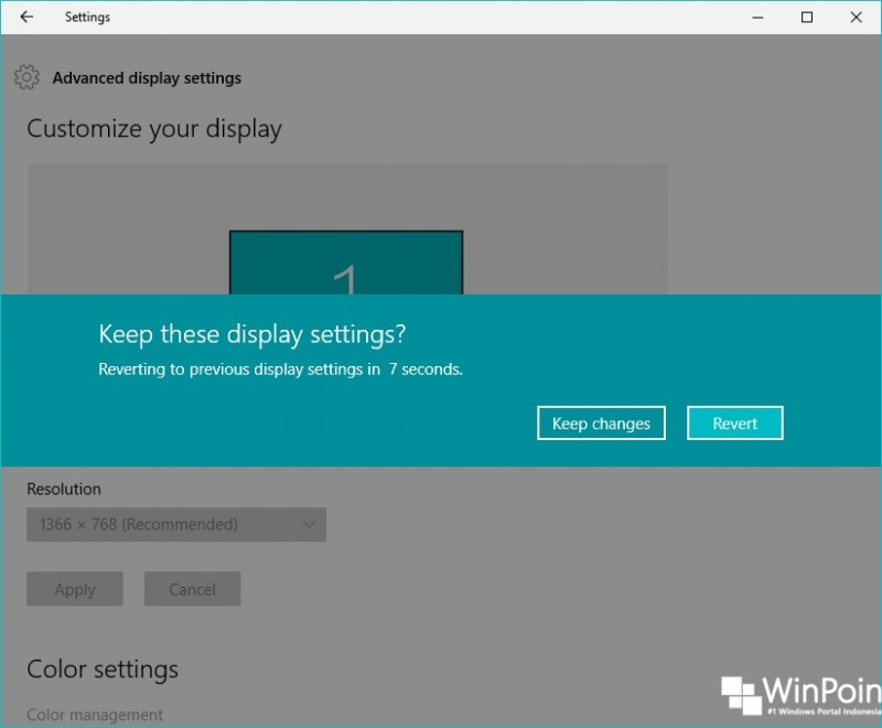 cara mengganti resolusi layar di windows 10 (5)