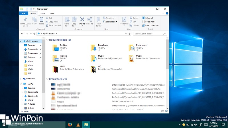 cara menghapus history Frequent Folders dan Recent Files di windows 10 (1)