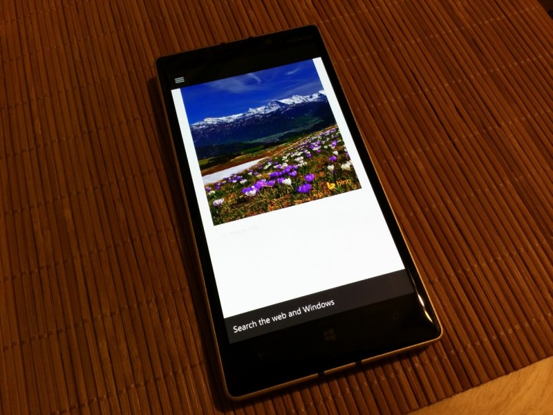cortana-search apps-windows 10 mobile