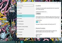 mengkonfigurasi fitur Location Service di windows 10 (1)