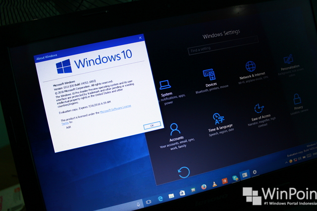 Microsoft Merilis KB3170410, Windows 10 Build 10586.446 untuk Release Preview