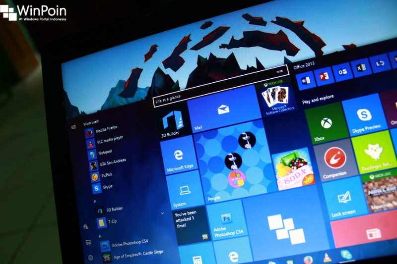 Setelah beberapa hari yang lalu merilis Build 14366 ke Fast Ring. Hari ini Microsoft menyediakan update ke Build 14366 untuk pengguna Slow Ring.