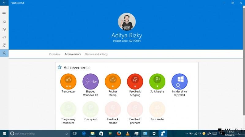 review windows 10 build 14361 (15)
