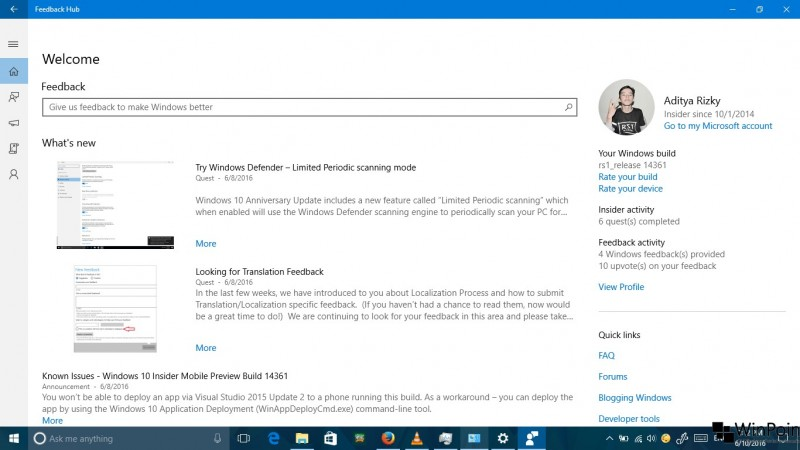 review windows 10 build 14361 (16)