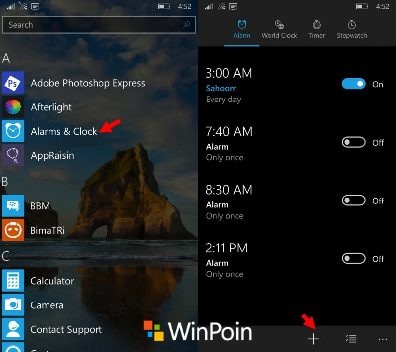 setup-alarms-windows10mobile