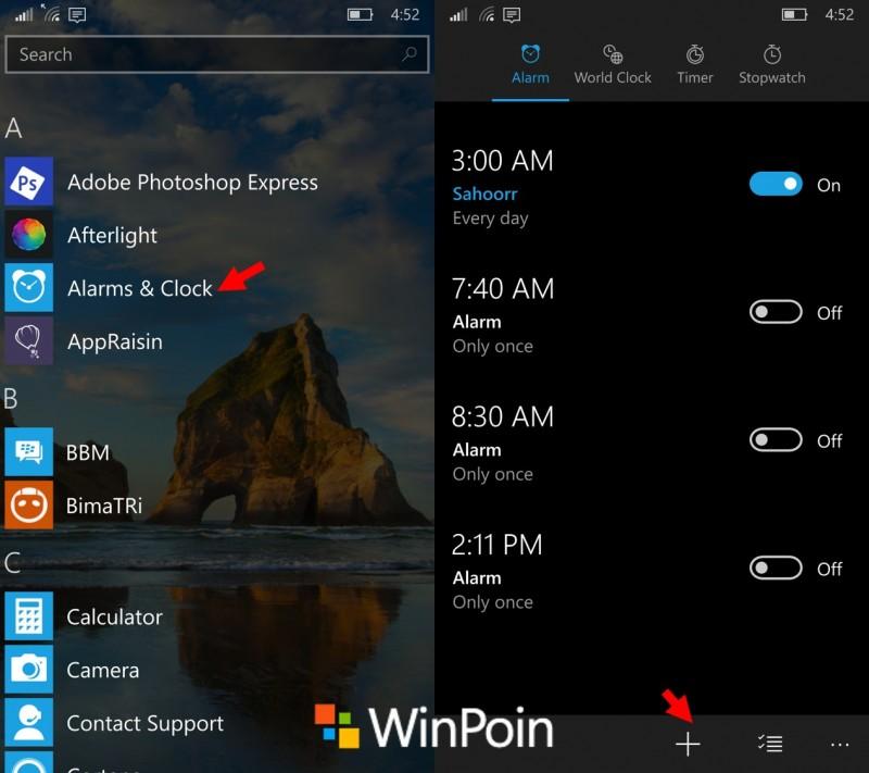setup-alarms-windows10mobile