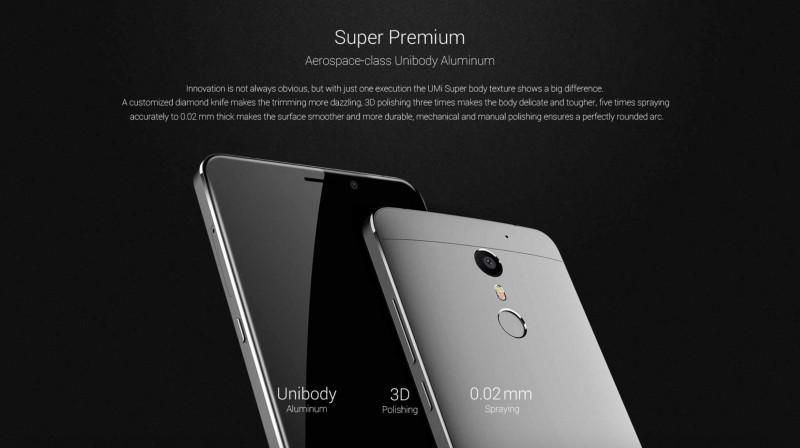 Inilah Flagship UMi Super 4G Android, Bakal Support Windows 10 Mobile Juga?