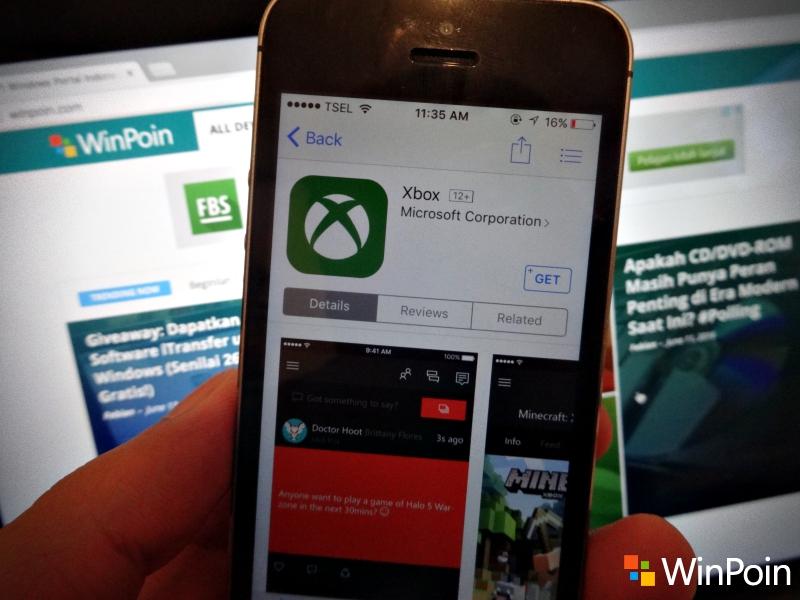 Aplikasi Xbox untuk iOS dan Android Dirilis