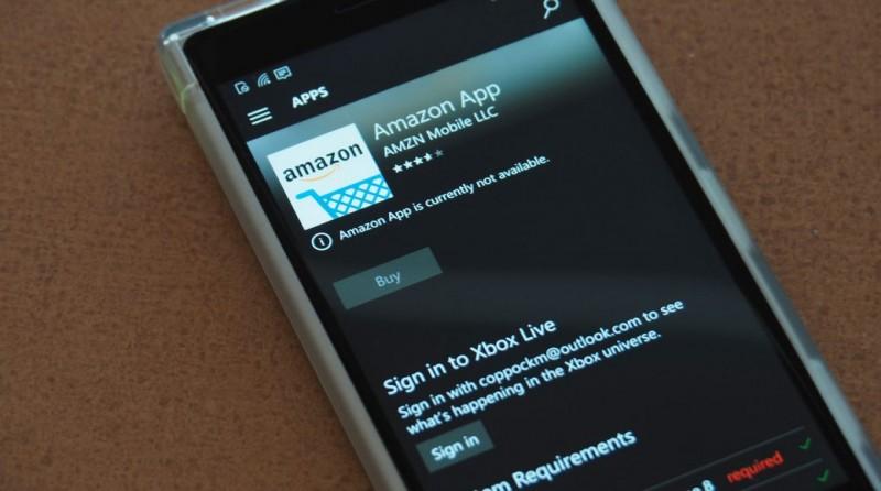 Amazon-App-Windows-Phone
