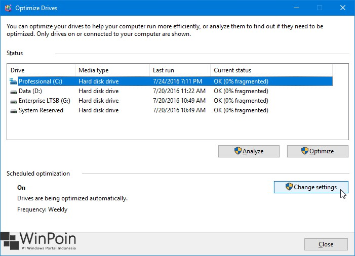Cara Defrag Secara Otomatis di Windows 10 (2)