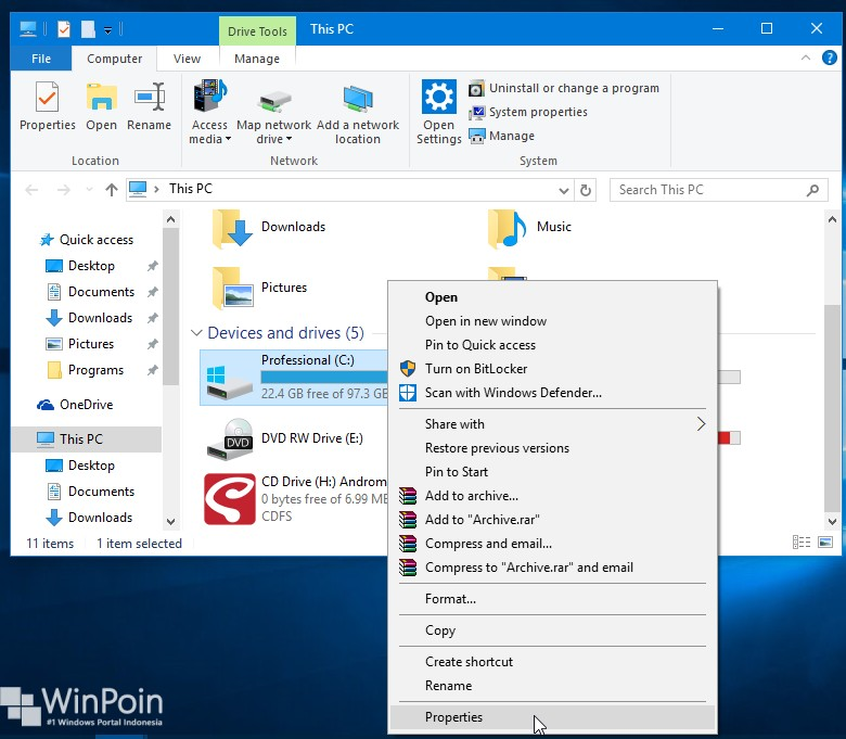 Cara Defrag di Windows 10 (2)