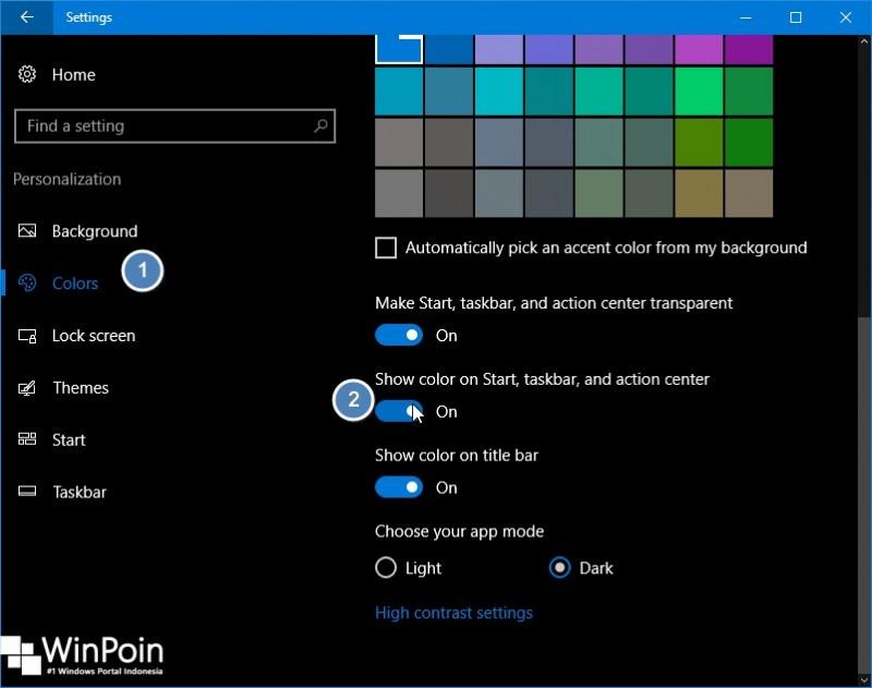 Cara Memberikan Efek Transparan di Windows 10 (1)