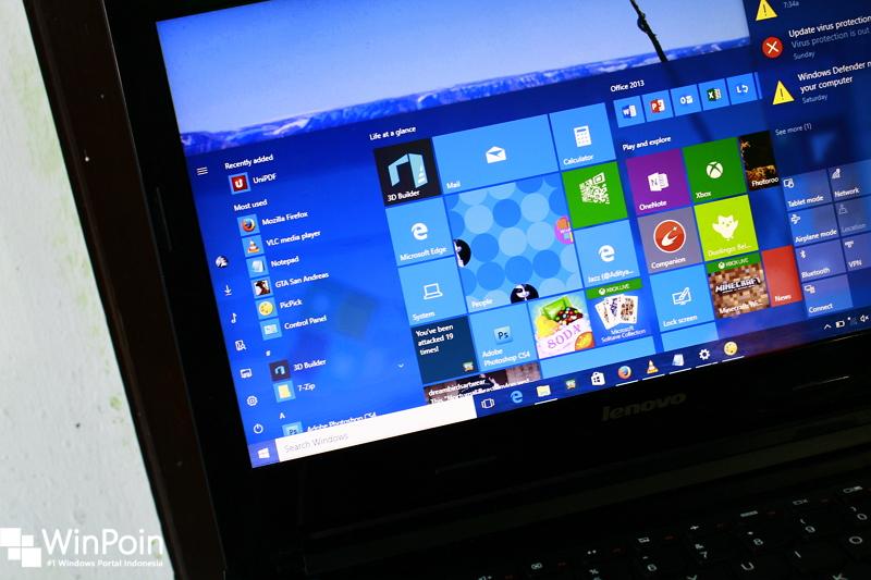 Windows 10 Build 14393.10 Dirilis ke Insider Fast Ring