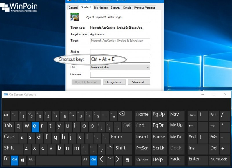 Cara Membuat Shortcut Keyboard pada Modern Apps Windows 10 (4)