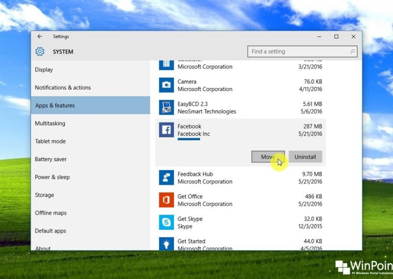 Cara Memindahkan Aplikasi Windows 10 ke Memori Eksternal (2)