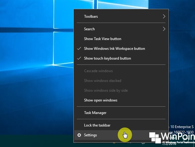 Cara Mengaktifkan Desktop Peek di Windows 10 (2)