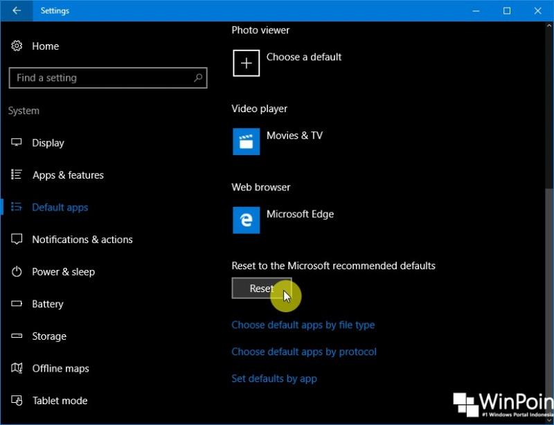 Cara Mengembalikan Semua Default Aplikasi di Windows 10 (2)
