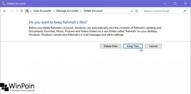 Cara Menghapus User di Windows 10 (4)
