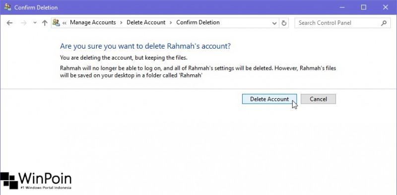 Cara Menghapus User di Windows 10 (5)