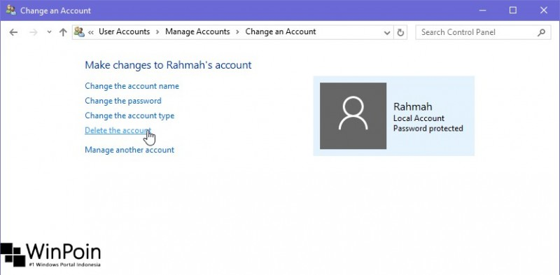 Cara Menghapus User di Windows 10 (6)