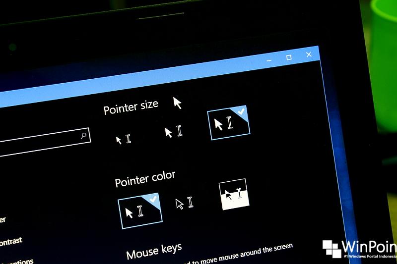 Cara Mengubah Warna dan Ukuran Mouse di Windows 10