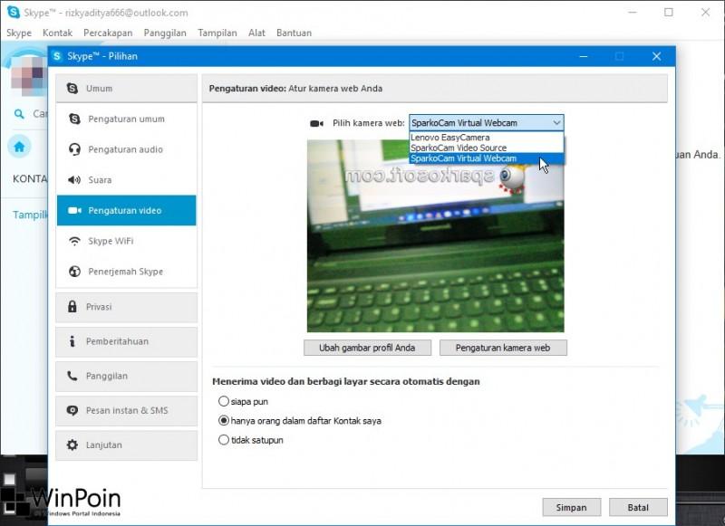 Cara Menjadikan Kamera DSLR sebagai Webcam di Windows (2)