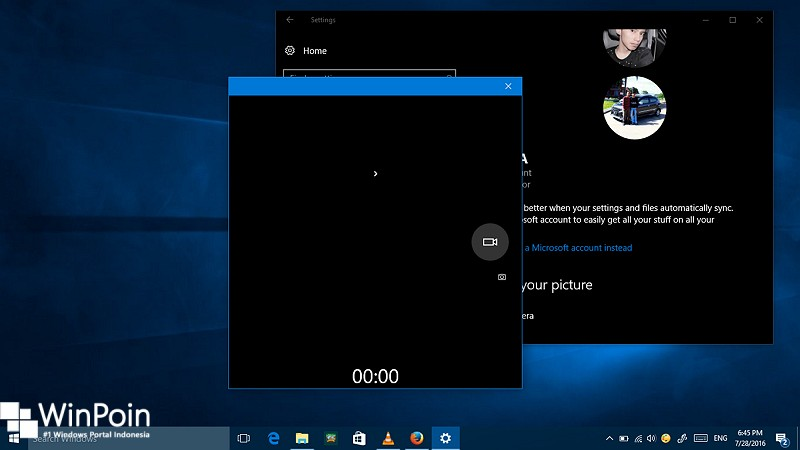 Cara Menjadikan Video Sebagai Account Picture di Windows 10 (1)