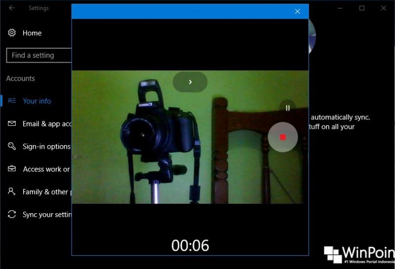 Cara Menjadikan Video Sebagai Account Picture di Windows 10 (3)