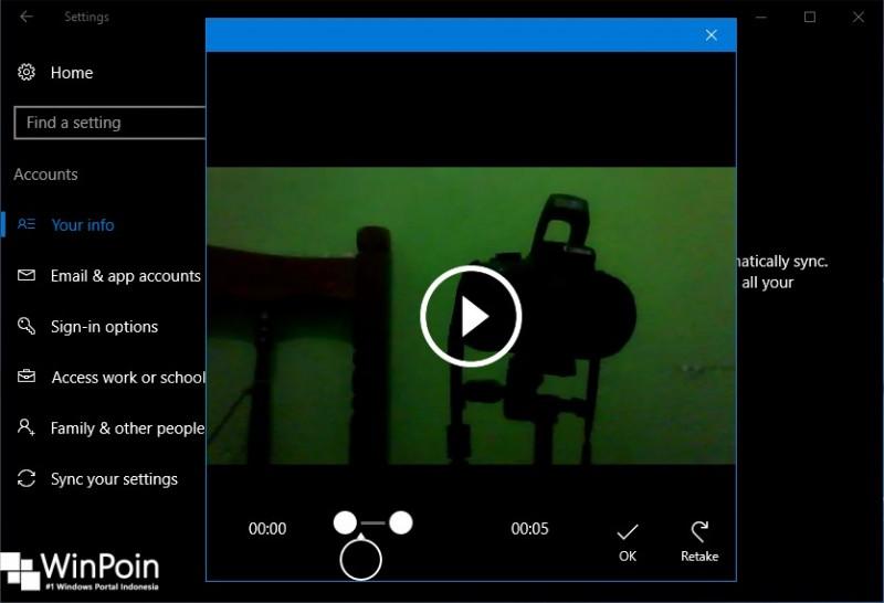 Cara Menjadikan Video Sebagai Account Picture di Windows 10 (4)