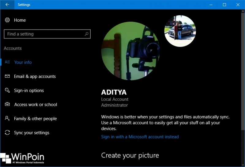Cara Menjadikan Video Sebagai Account Picture di Windows 10 (5)