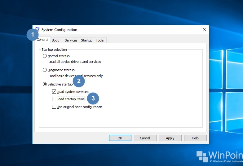 how to perform clean boot of windows 10