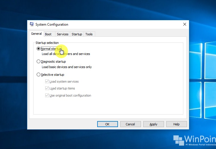 Cara Menjalankan Clean Boot di Windows 10 (7)