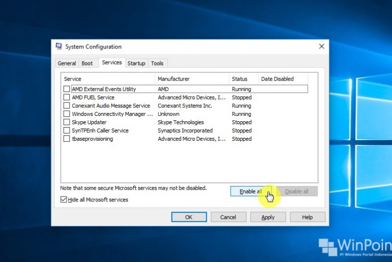 Cara Menjalankan Clean Boot di Windows 10 (8)