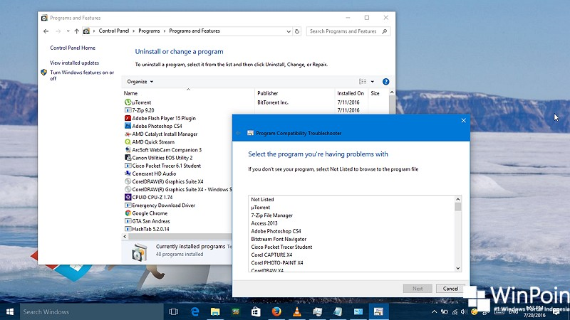 Cara Menjalankan Program Compatibility Troubleshooter di Windows 10 (1)