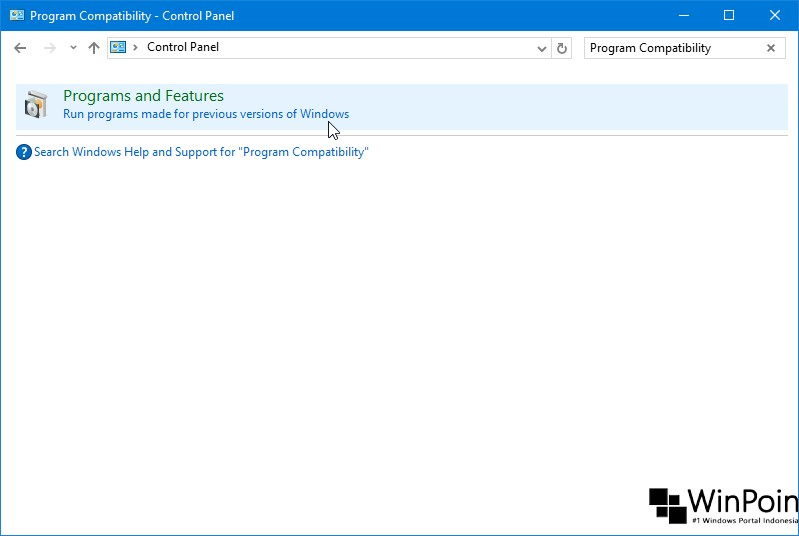 Cara Menjalankan Program Compatibility Troubleshooter di Windows 10 (2)