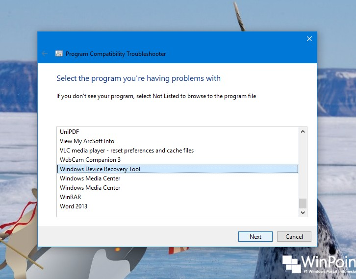 Cara Menjalankan Program Compatibility Troubleshooter di Windows 10 (4)